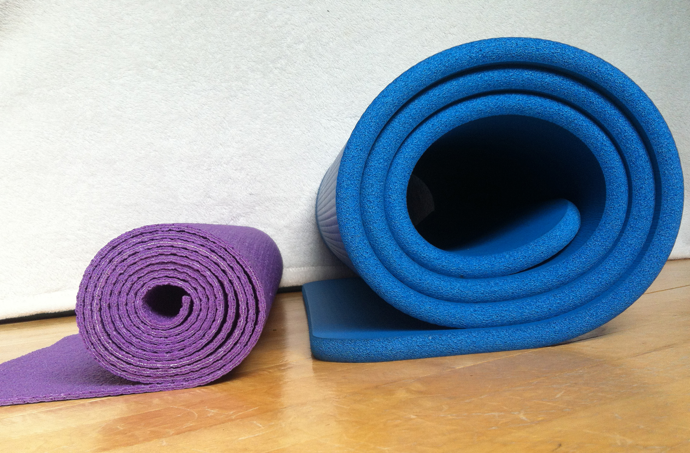 pilates mats and yoga mats
